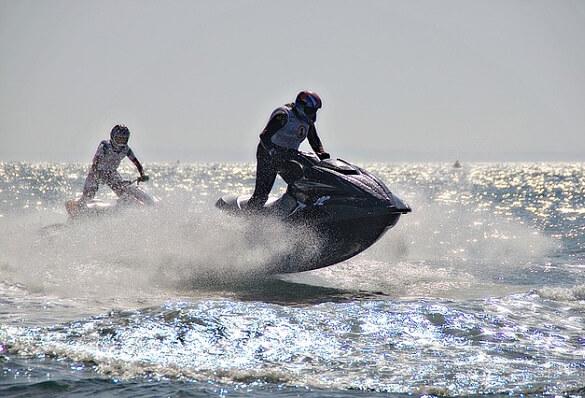 Jet Ski Tijdens Incentive Reis
